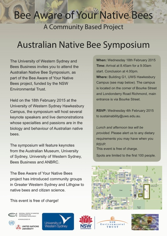 Bee Symposium Invite - Jan