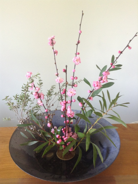 Plum Blossom Arrangement